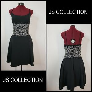 JS Collections Woman  fit & Flare Dress Size  12